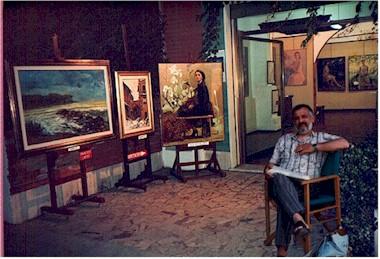 Serretti Franco in galleria